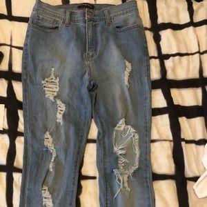 Fashion Nova Glistening jeans
